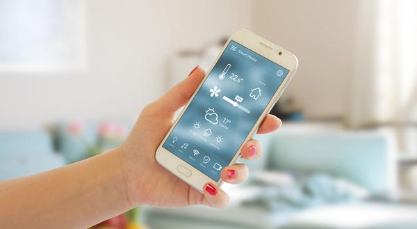 app som styr bergvärme uppvärmning