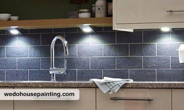 انواع روشنایی آشپزخانه