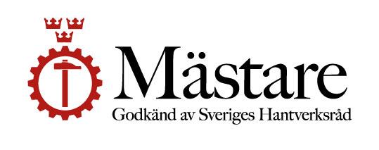 Godkänd av Sveriges Hantverksråd.