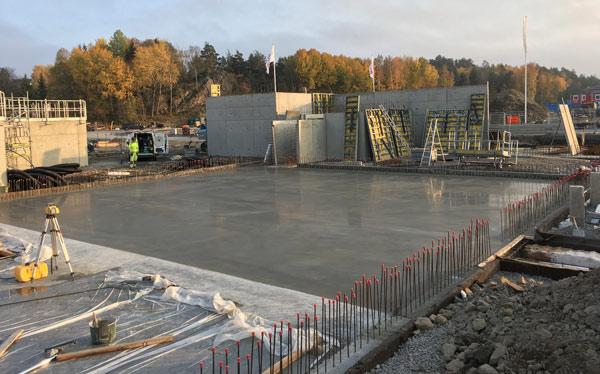 betonggjutning