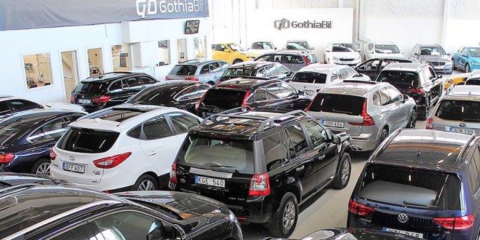 Bilhandlare i Borås.