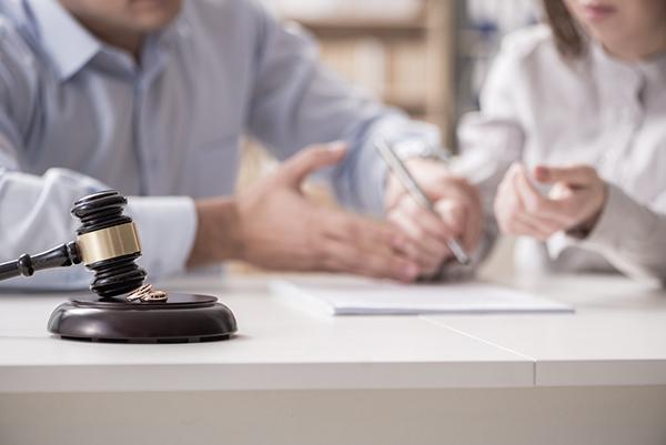 juridik skilsmässa