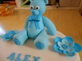 cake topper teddy bear