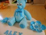 cake topper teddy bear