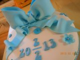 cake topper big bow