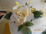 big romantic sugarpaste rose