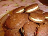 double chocolate whoopies