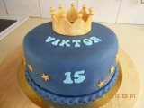 birthday cake fit for a king