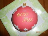 christmasornament cake