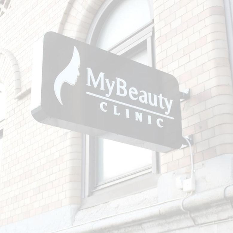 MyBeauty Clinic Fasad Logotyp