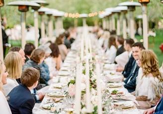 Sittning på bröllop