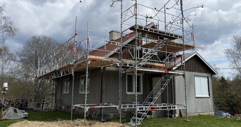 Vi tillhandahåller säker byggställning i Skåne.