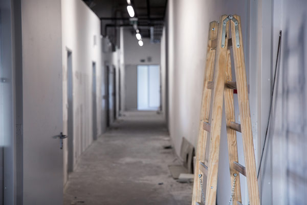kontorslokal byggs om till bostäder