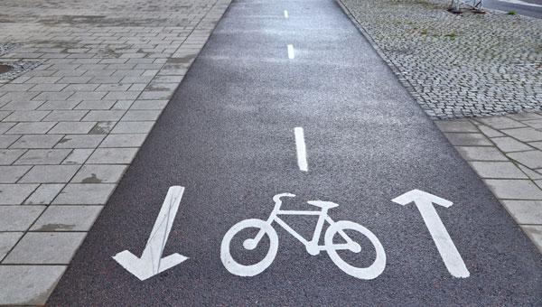 även cykelbanor måste handikappsanpassas