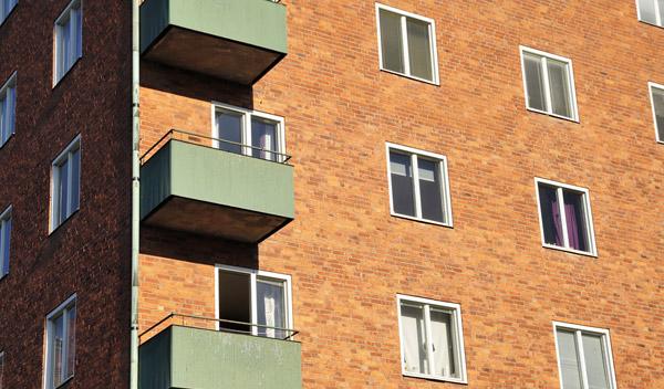 balkong i bostadsrättsförening Sverige