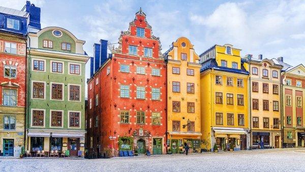 Vackra fasader i Stockholm