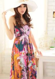 Floral Maxiklänning