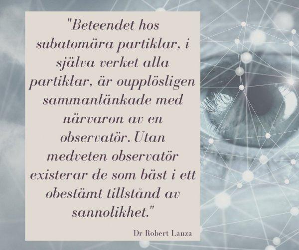 Ambres och modern vetenskap om verklighetens innersta natur.