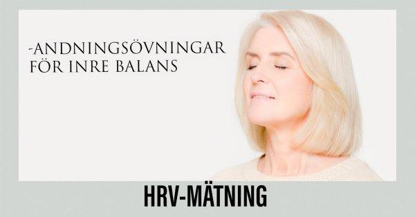 HRV-mätning -för din inre balans.