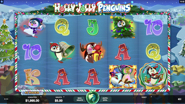 Spelvy Holly Jolly Penguins