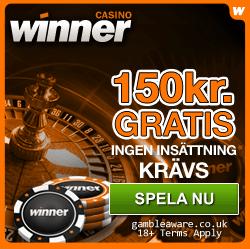 Casino online bonus gratis hos Winner!