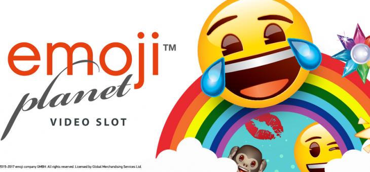 Emoji Planet spillemaskine fra NetEnt