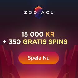 Zodiacu 350 free spins