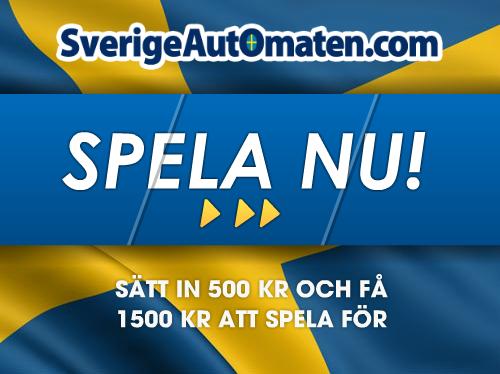 Casino online bonus hos SverigeAutomaten!