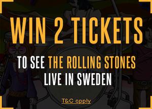 Vinn en konsertbiljett till Rolling Stones