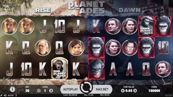 Spelbild Planet of the Apes