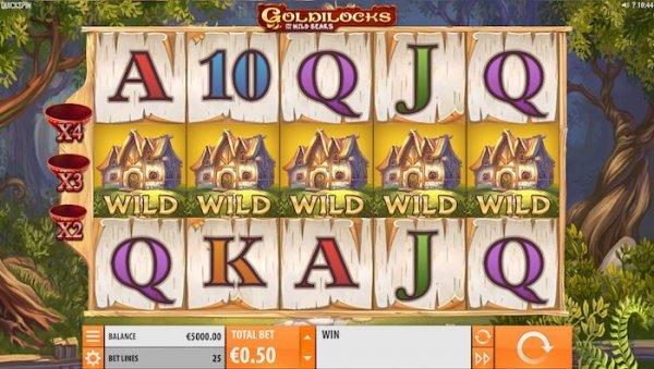 Goldilocks Quickspin