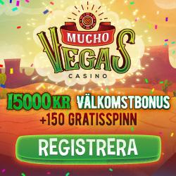 Mucho Vegas sju insattningsbonusar