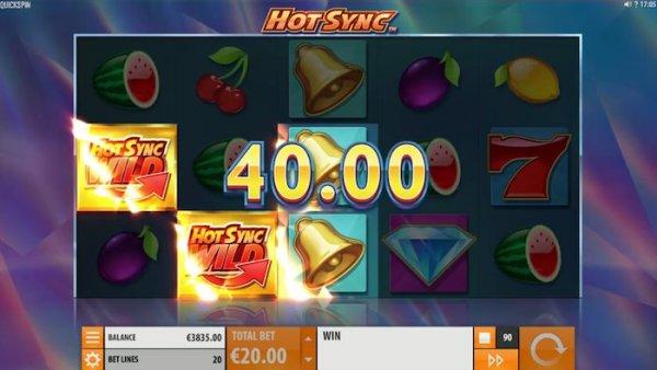 Hot Sync er synkronisert med Casumo casino