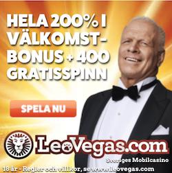Leo Vegas bonuserbjudande