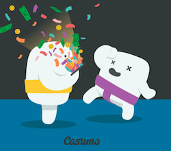 Prispott Casumo race