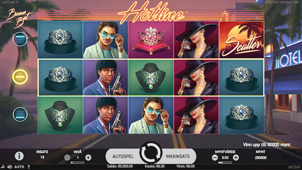 Hotline casinospel