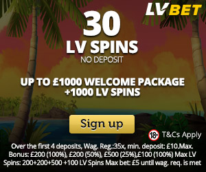 Lvbet Casino Gives 30 Free Spins No Deposit Required No Deposit