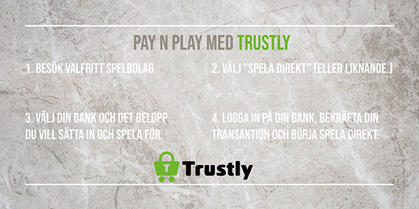 Pay n Play med Trustly