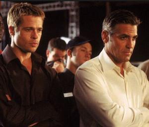 Brad Pitt i Oceans Eleven