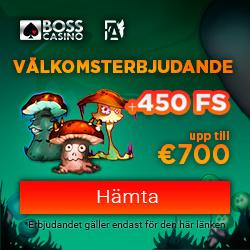 Boss Casino 450 free spins