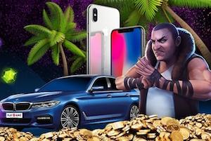 Vinn en BMW hos PlayAmo