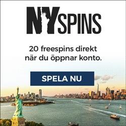 Gratis free spins NYspins