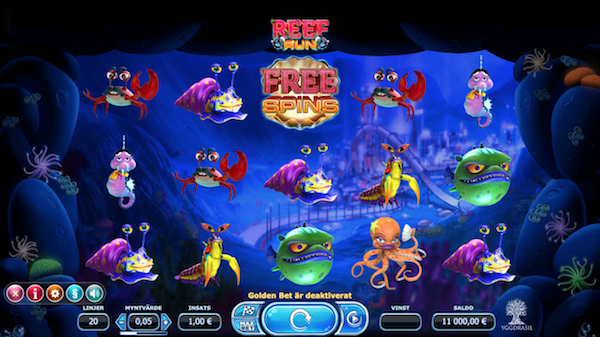 Reef Run Yggdrasil Gaming