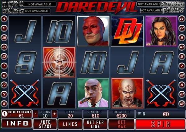 Daredevil-Slot