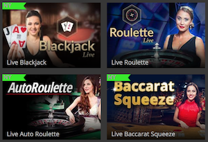 CasinoLucks live casino