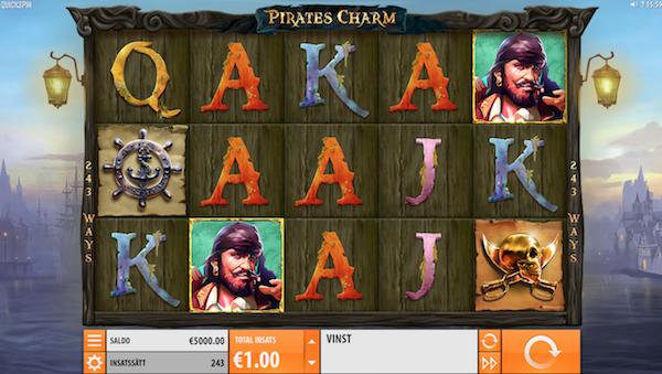 Pirates Charm Quickspin