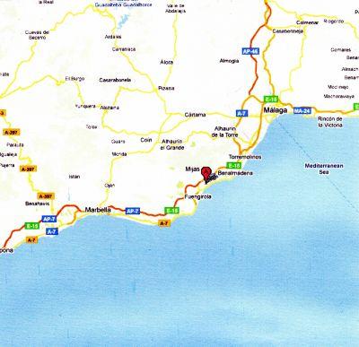 karta marbella Info | Casa Nicola i Fuengirola uthyres karta marbella