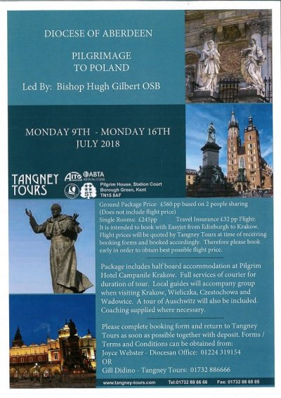 Events catholic shetland a pilgrimage to poland this summer centred on krakow there will be visits to wieliczka wadowice czestochowa and auschwitz please see the pdf file fandeluxe Image collections
