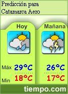 El tiempo en Catamarca Aero - Predicción a 7 días y condiciones actuales.