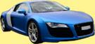 AUDI R8 aus schwarz mach blau